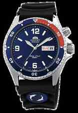 Orient FEM65003D Men's Blue Mako Rubber 200M Automatic Diver Watch  BOX WARRANTY
