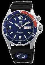 Orient FEM65003D Men's Blue Mako Rubber 200M Automatic Diver Watch  BOX WARRANTY