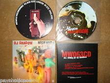 DJ SHADOW - High Noon   MOWAX 063 CD   Cardboard Sleeve