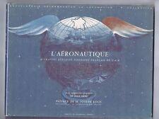 L'Aéronautique. Encyclopedie Calberson 1961 - 16 planches couleurs