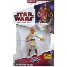 Star WARS CLONE WARS 2009 Nahdar Vebb jedi exclusive action figure new