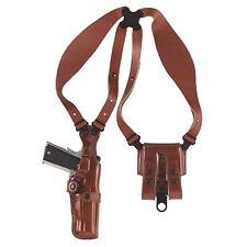 "Galco Vertical Shoulder Holster, Ambi Tan for 1911's, 3,4,5"" VHS212"