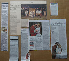 Seven Brides for Seven Brothers - Theatre clippings/cuttings/articles pack