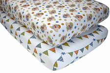 Disney Baby Dumbo Elephant Fitted Cot Sheet Set NEW Crib Toddler Bed