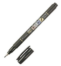 Tombow Fudenosuke Soft Brush Tip pen - Black ink