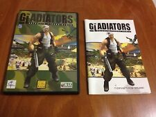 Gioco THE GLADIATORS Galactic Circus Game videogioco + Manuale Italiano