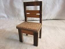 a Puppenstube Kaufmannsladen Möbel Herrenzimmer Küche Stube Stuhl Küchenstuhl