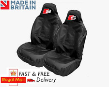 AUDI S-LINE CAR SEAT COVERS PROTECTORS SPORTS BUCKET HEAVYWEIGHT - A3 S3