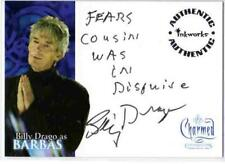 Charmed Conversations Auto Card A5 Billy Drago as Barbas [ variant 2 ]