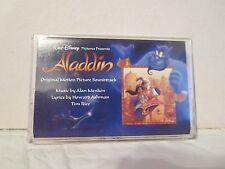 ALADDIN (SEALED Walt Disney Soundtrack Cassette) A Whole New World, Alan Menken