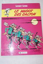 LUCKY LUKE LE MAGOT DES DALTON-MORRIS VICQ-1983 DARGAUD
