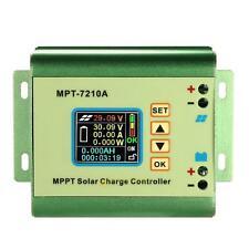 LCD MPPT 7210A Solar Regulator Charge Controller DC-DC Boost 24v/36v/48v/60v/72V