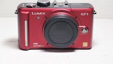 Panasonic LUMIX DMC-GF1 12.1MP Digital Camera  - RED Body  +battery+ charger