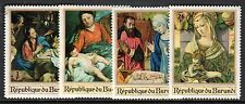 Burundi - 1967 Christmas / Paintings - Mi. 382-85 MNH