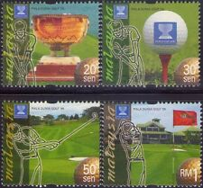 Malaysia 1999 World Cup Golf Tournament MNH