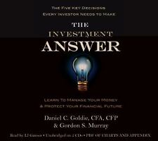(New CD) The Investment Answer Learn to Manage Your Money (2 CDs / 2 Hours)