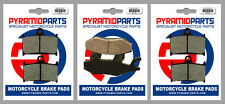 Triumph 955 Sprint RS 2000 Front & Rear Brake Pads Full Set (3 Pairs)