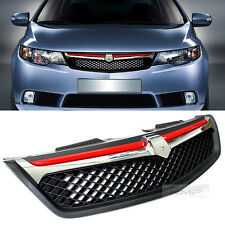 Front Hood Radiator Sports Grill For KIA 2009 2010 2011 2012 Cerato / Forte