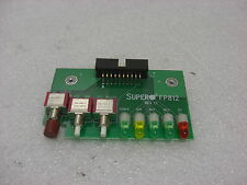 SUPERMICRO FP812 REV 1.1 I/O BOARD POWER SWITCH ACTIVITY RESET CONTROL