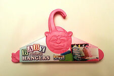 Baby Clothes Hangers Pink Animal Shower Gift Vintage Toddler Nursery Closet Kids