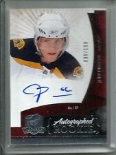 Jeff Penner 10/11 The Cup Autograph Rookie #099/199
