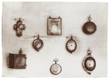 Photo /  collection de montre à gousset d'exception vers 1900 old pocket watches