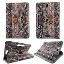 Camo Green  For Asus Vivo Tab RT 10.110 inch Tablet Case Cover Uni Pu Leather