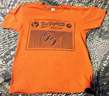 Eye-catching orange FOO FIGHTERS WASTING LIGHT SHIRT Size Medium Dave Grohl