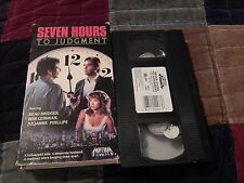 Seven Hours to Judgement + Hidden In America + Iron Triangle(VHS) Beau Bridges