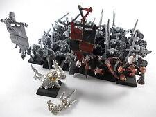 30 x Klanratten + Warlocktechniker der Skaven / Warhammer Fantasy - unbemalt -