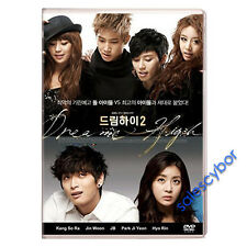 """BUY 5 GET 1 FREE"" Dream High (Season 2) Korean Drama (4 DVDs) GOOD_ENGLISH!"