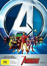The Avengers - Earth's Mightiest Heroes : Season 2 (DVD, 2013, 4-Disc Set) Reg 4