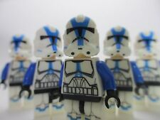 LEGO STAR WARS 501st Legion Clone Trooper Custom (Lot of 5) with Many Weapons!