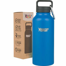 Healthy Human 32 oz Bahama Insulated Stainless Steel Water Bottle Stein