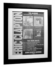 ERIC CLAPTON+461 Ocean+Reason+POSTER+AD+ORIGINAL 1977+FRAMED+EXPRESS GLOBAL SHIP