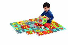 The Canadian Group Fisher Price Rainforest ABC-123 Foam Cube Puzzle (36 Piece)