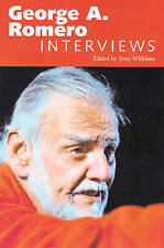 George A. Romero: Interviews (Conversations with Filmmakers), , Good, Paperback