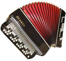 Russian Button Chromatic Accordion Bayan, B System, 100 Bass + Case, Tembr, 700