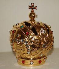 CORONA IMPERIALE  Bambino di Praga - IMPERIAL CROWN DIAMETER Cm. 8 Ottone in oro