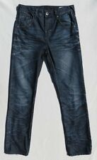 JACK & JONES Men's Dark Blue Denim Slim Leg Skinny Stan Jack Jeans sz 29 x 30