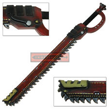 Soft FOAM Red Chainsaw Sword LARP Space Chainsword Latex Prop Cosplay Weapon
