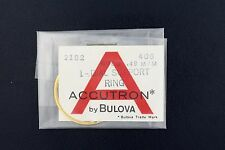 NEW OLD STOCK BULOVA ACCUTRON 2182 .49MM GILT DIAL SUPPORT RING #406