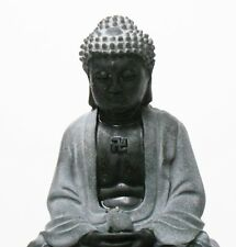 Stylish Black Grey Buddha Chinese Shakemuni God Harmony Figure B
