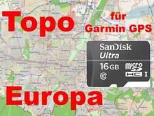 Topo*Europa*Karte*Garmin*GPSMap 62/64*Monterra*Oregon 450/550/600/650