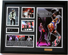 New Michael Jackson Signed Limited Edition Memorabilia Framed