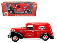"1940 FORD PANEL VAN ""TEXACO"" RED 1/18 DIECAST MODEL BY BEYOND THE INFINITY 0606"
