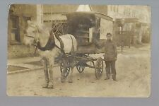 RP c1910 GROCERY DELIVERY WAGON The Westgate Co. Grocer Groceries
