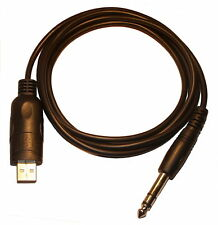 CW Computer USB Interface Cable 6.35mm Jack