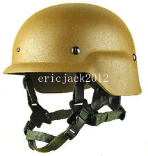 Tactical Airsoft LWH USMC ABS lightweight helmet CB size L-D232