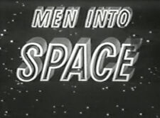 Men into Space All 38 TV Shows on 10 DVD's + Bonus